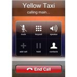 Taxi app helps you find contact information for cab companies in your area.