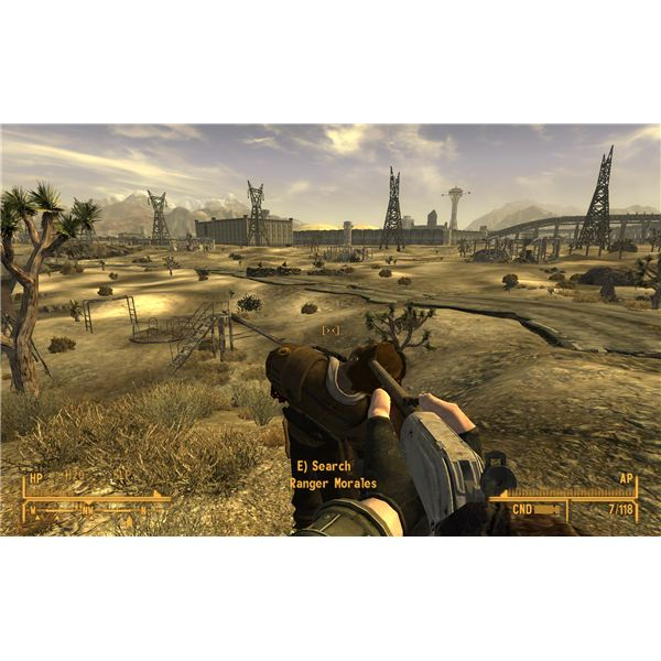 Fallout: New Vegas Walkthrough - Killing the Fiends and Retrieving Ranger Morales' Body