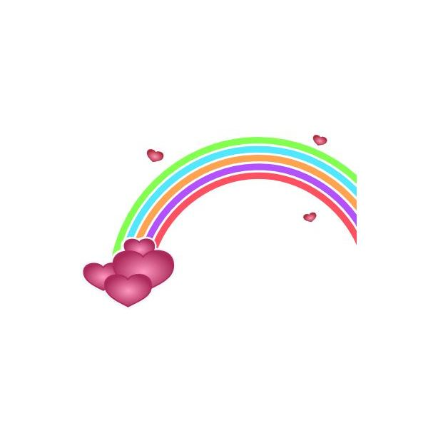 cute-valentinesday-graphics-kids-rainbow-with-hearts