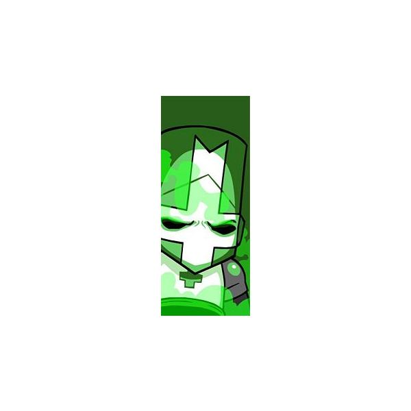 Castle Crashers Characters - Green Knight