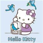 Hello Kitty Birds Wallpaper