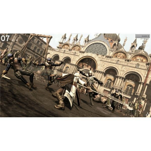 Ezio Auditore di Firenze gets all kinds of cool weapons in Assassins Creed 2