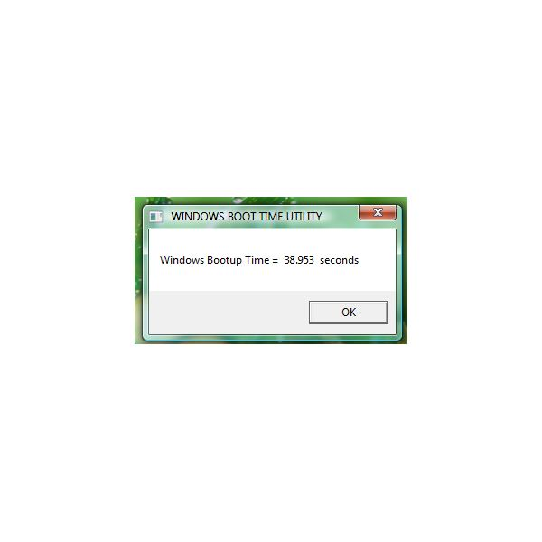 Boot-time of Windows with MSE 2 installed