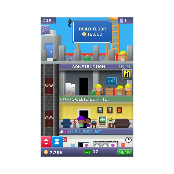 Building a Tiny Tower on the iPhone