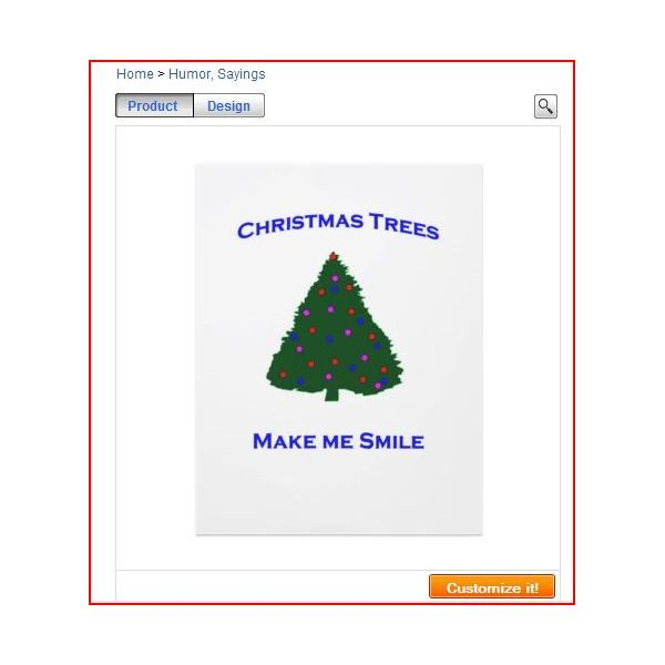 Christmas Tree Shop Flyers from Zazzle