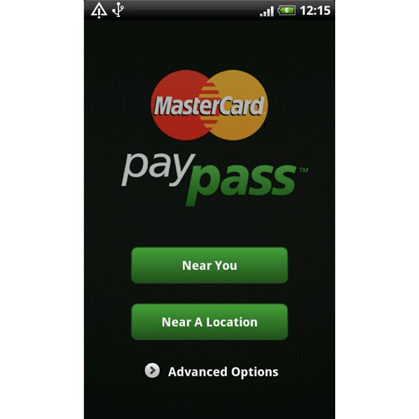 Review of the MasterCard PayPass Locator App for Android