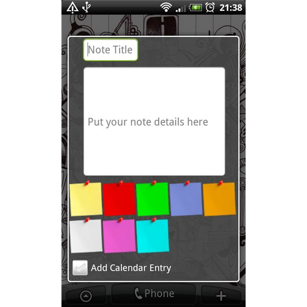 Android App: Best Sticky Notes Reminders on Android