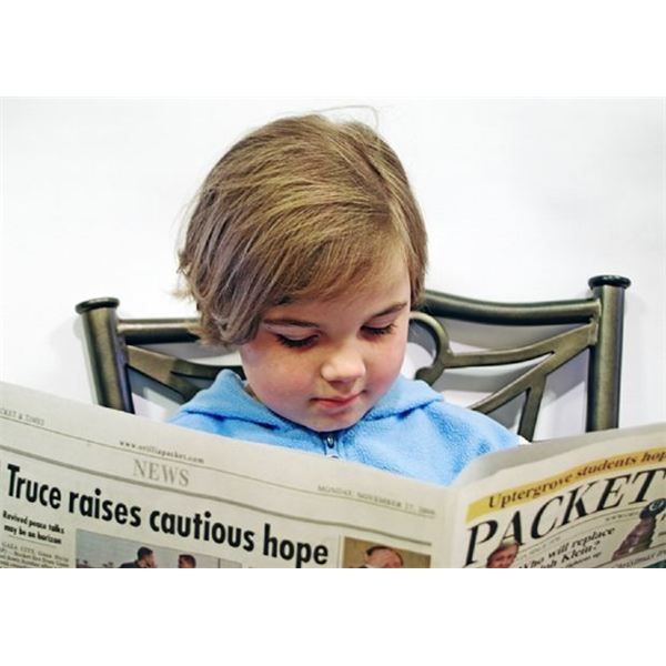 Newspapers in Preschool Classroom (Lesson Plan)