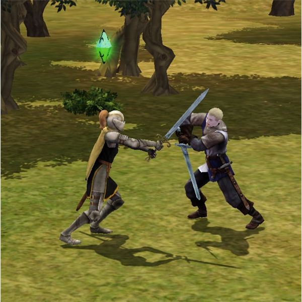 The Sims Medieval Sword Fighting Guide