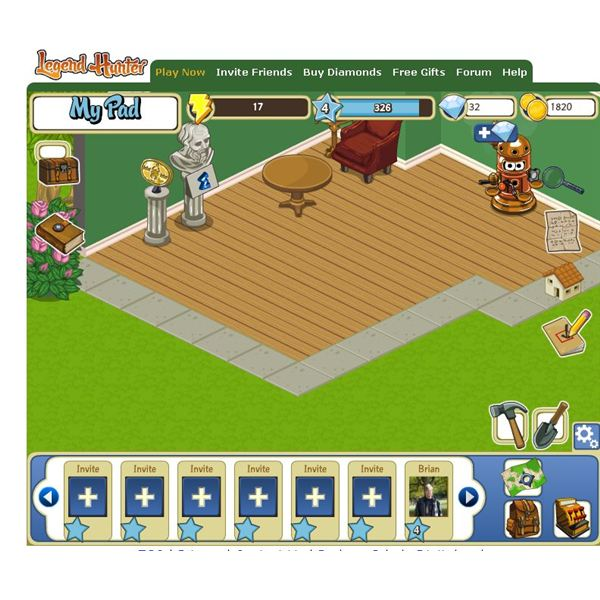 Play Treasure Hunting Games On Facebook with Legend Hunter