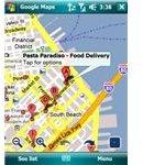 Google Maps Screenshot business view