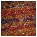 Gold and Orange Rough Carpet