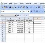 Sample Gantt Chart Data