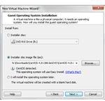 Installing a CentOS 5 virtual machine