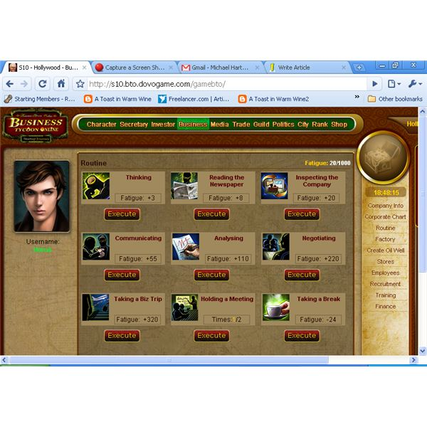 Business Tycoon Online Beta
