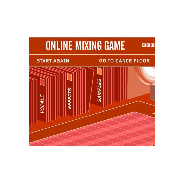 Elementary Music Games: Fat Boy Slim BBC Mixing Game
