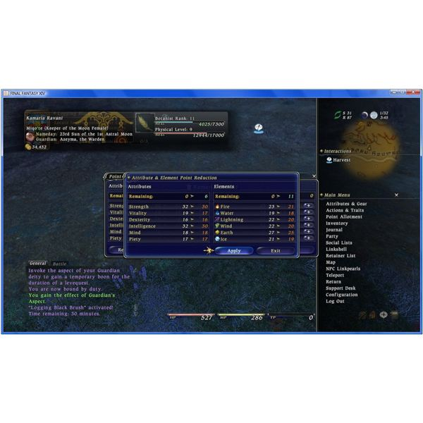 FFXIV Stats and What They Mean