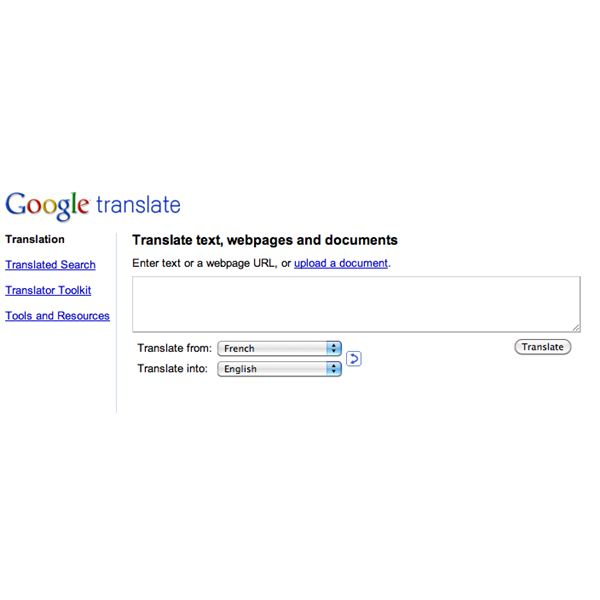 Understanding Google Translation Tools