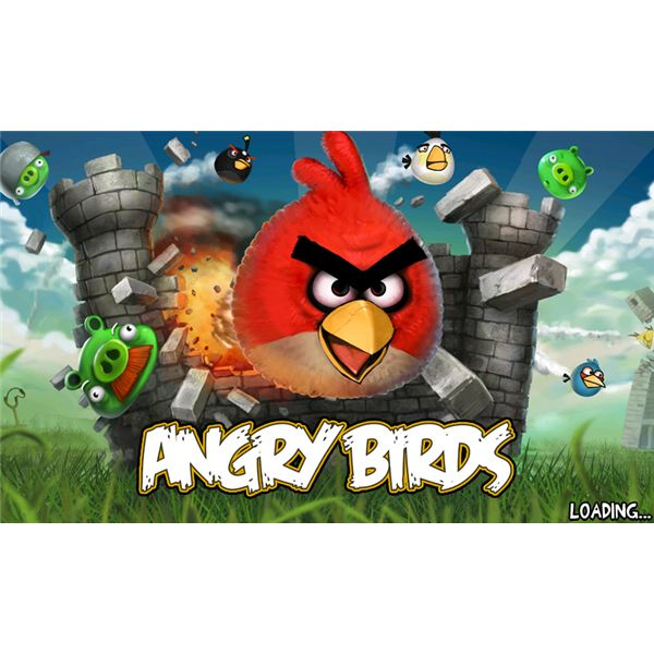 Angry Birds Loading Screen