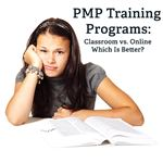 Trying to decide between online and classroom PMP training?