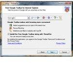 Google Toolbar bundled in ThreatFire installer