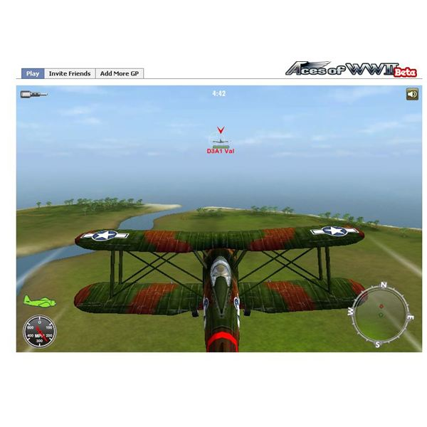 Aces of WWII - Free WWII flying games