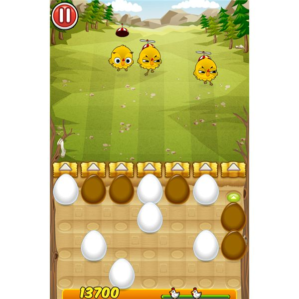 iPhone Game Review: Egg vs. Chicken