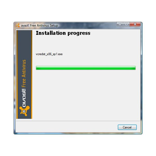 Visual C++ 2008 SP1 installed by Avast! 5