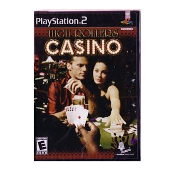 High Rollers Casino cover for the Playstation 2