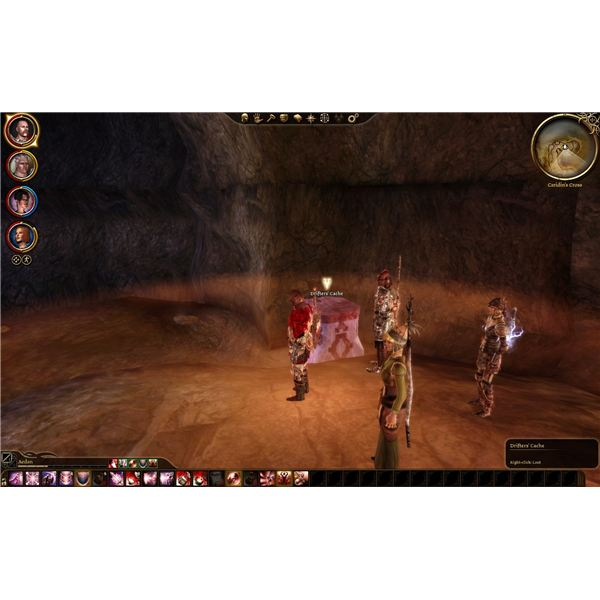 Dragon Age: Origins Guide - Orzammar Deep Roads - Caridin's Cross - A Drifter's Cache