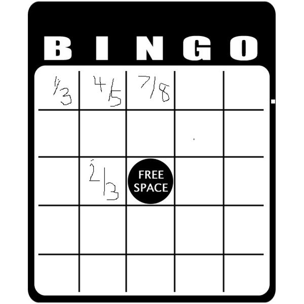 It is an image of Striking 7th Grade Math Bingo Printable