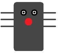 Paper Cup Black Cat