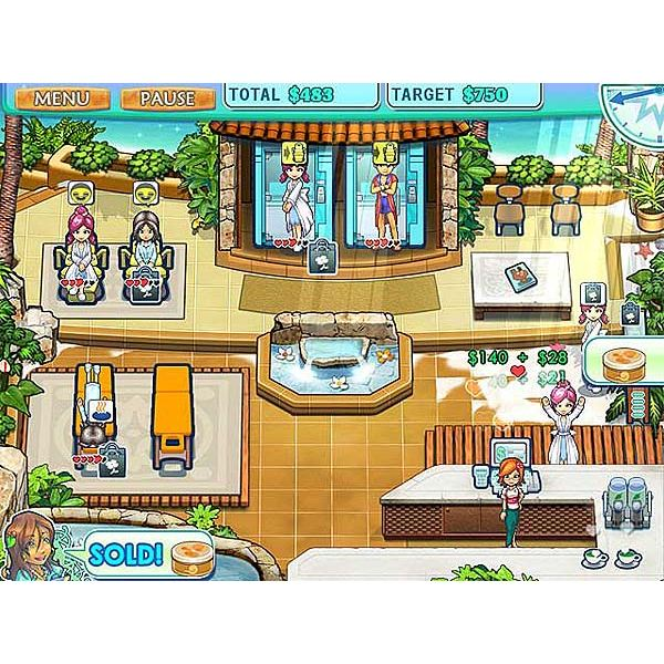 Sally's Spa Game Hints and Tips