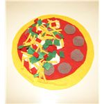 Felt Play Food Pizza