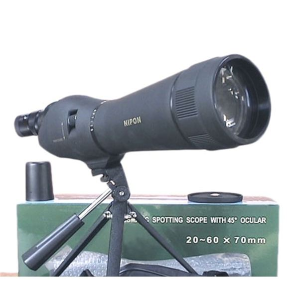 A spotting scope refractor