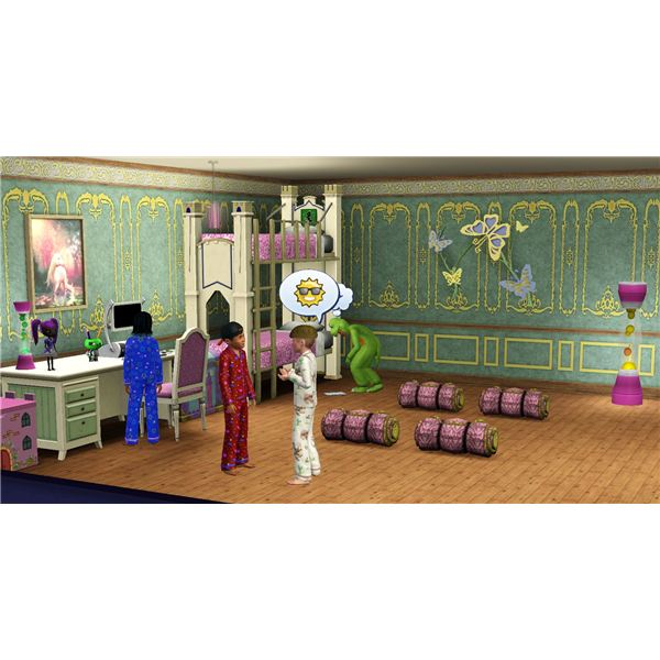 The Sims 3 slumber party