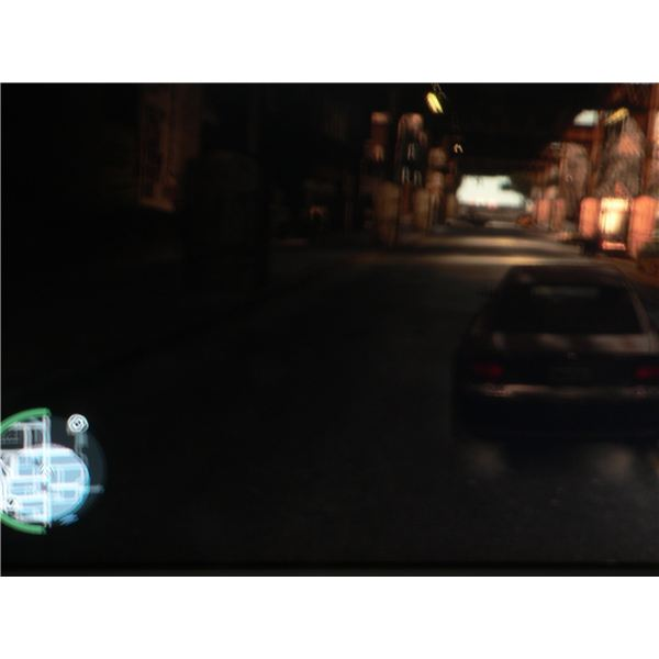 Grand Theft Auto IV Hints and Tips: The radar when the police are chasing you.