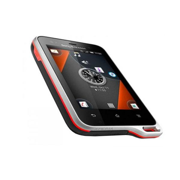 Sony Ericsson Xperia Active front and side