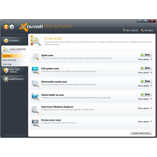 Free Antivirus Download Review: Avast! 5 Review