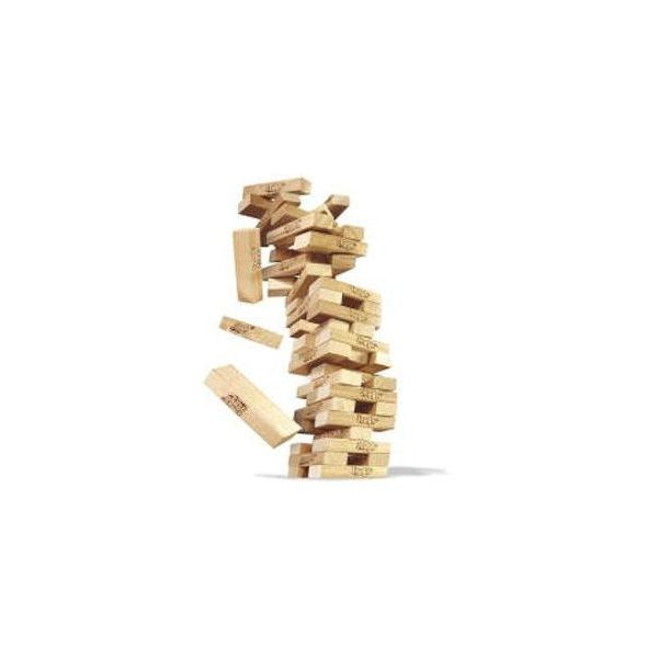 The Jenga Game in Motion