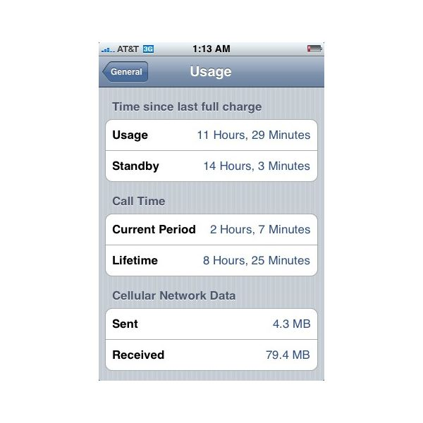 how to view data usage on iphone how to find out how much iphone data you used 20461