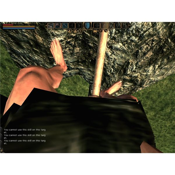 Most of the gameplay consists of working, such as mining