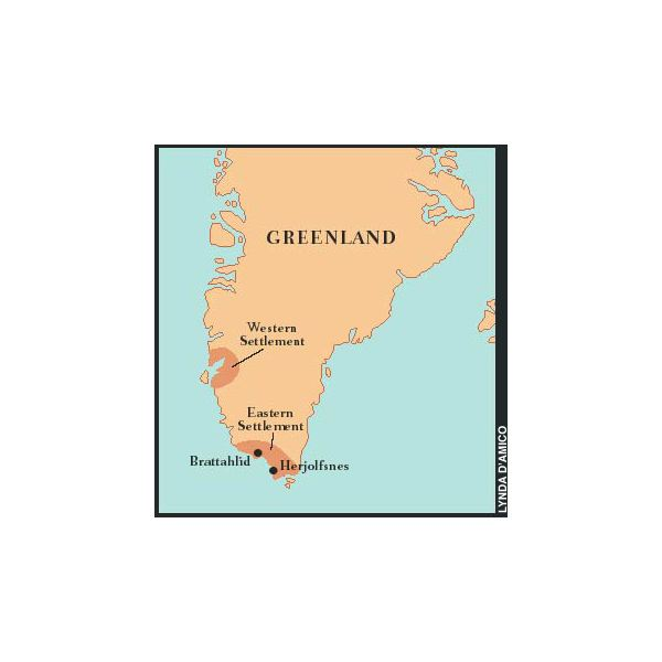 Viking Greenland Settlements