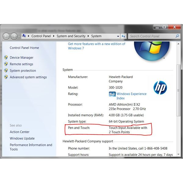 How to use Windows 7 touch screen features - Touch Points