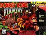 Donkey Kong Country - Original Super Nintendo Box Art