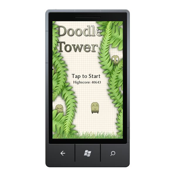 doodle tower screenshot