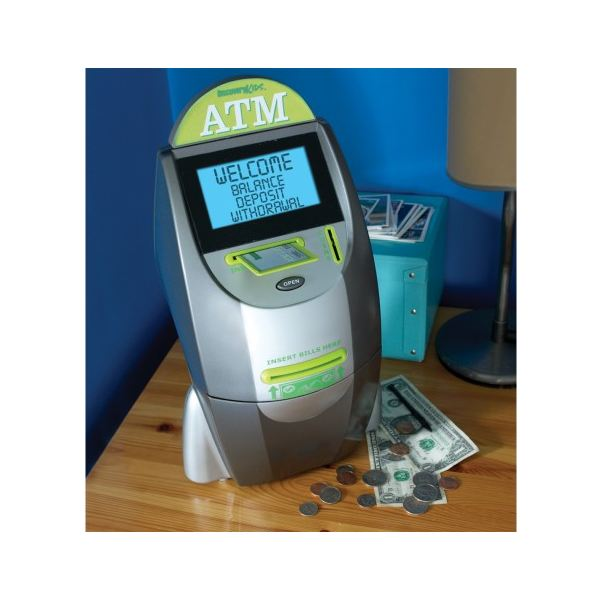 Discovery Deluxe Touch Screen Atm Machine