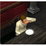 The Sims 3 eating
