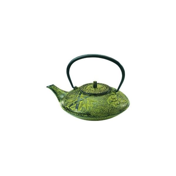 Old Dutch 38-Ounce Cast-Iron Nobility Teapot with Infuser