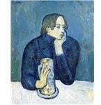 Pablo Picasso's Le bock (Portrait de Jaime Sabartes)